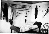 [Samuel Hubbard's bedroom at trading post.]