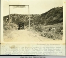 Beginning of the Edgerton Cutoff of the Richardson Highway at Chitina.