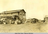 Tanana Roadhouse - Circle City, Alaska, ca. 1930.