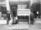 Wickersham Headquarters, Nome, Alaska.