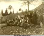 Friends mission group, Kake, Alaska.  April 8th, 1905.