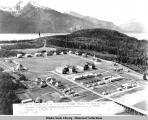 View of Fort Seward, military installation near Haines.