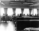 [Interior view of Ferry front lounge.]