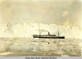 S.S. Aleutian at Columbia Glacier.  H.W. Steward 1927.