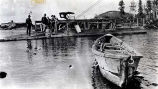 Ferry at Salchet (?) 1915.