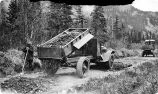 A.R.C. truck Near Chitina May 1919.