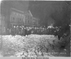Celebrating in Cordova the passage of the Alaska Railroad Bill by Senate, Jan. 24, 1914.