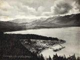 Birds-Eye view of Seward Terminus of Alaska C.R.R.