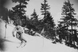 Dean Williams skiing on Douglas Island, 1939.