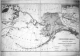 [Map of Territory (Alaska) ceded to the United States by Russia.]
