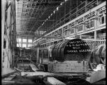 Inside the A.G.M. Cos' Tube Thane Alaska