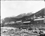 Base Ball Ground at Treadwell, Alaska