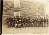 Sergeant Tower's Squad, Fort Egbert, Alaska July 1902.