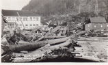 Gold Creek after the Storm Sept. 26, 1918, Juneau, Alaska.