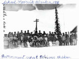 Government school Eskimo children, Noorvik, Alaska. 1918.