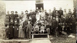 Friends Sabbath School, Douglas, Alaska. 1889.