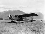 Curtiss Thrush on field