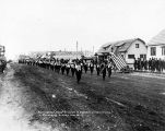 Anchorage Lodge no. 8. I.0.0.F. in Decoration Day Parade, Anchorage, Alaska.  May 30, 1917.