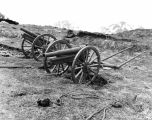 [Attu, Aleutian Islands: One Japanese three-inch howitzers, May 1943.]