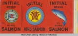 Alaska Packers Association, Initial Brand Lightly Salted King Salmon.