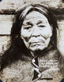Old Natives; Skok-ish-Tin 107 years old, Wrangell, Alaska [Native woman].