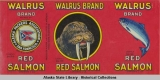Alaska Packers Association, Walrus Brand Red Salmon.