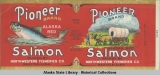 Northwestern Fisheries Co., Pioneer Brand Alaska Red Salmon.