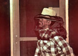 Jerry in Mosquito Net Hat – May 1949.