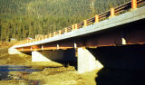 Quartz Creek bridge completed - September.