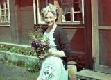 Dorathea Rieck with Wild Flowers 1949.