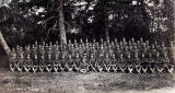 Draft men. Co. A. 14th Infantry Fort Seward Alaska.