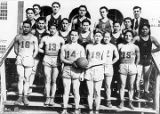 "1935 Wrangell Institute basketball team ""Golden Eagles""."