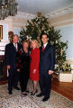 Governor Frank Murkowski and Nancy, Lieutenant Governor Loren Leman and Carolyn at the Governor's...
