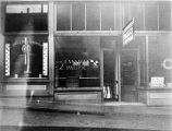 Store fronts: C. Smith & Bros Typewriter Co. Alaska Office; Canadian Pacific.