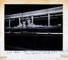U.S.S. Alaska - Model located in Room 1700-7-3 Building Bureau of Ships Navy Department -...