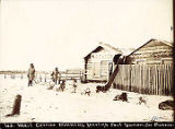U.S. Mail Carrier Downing leaving Fort Yukon for Dawson, 1900.