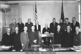 Members of House of Representatives - 15th Territorial Legislature - Juneau, Alaska, Jan-Mar, 1941.