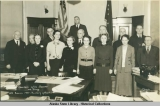 Members of the Senate and Staff - 13th Session 1937 - Territory of Alaska.
