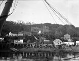 [Seldovia; waterfront at low tide.]