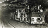 Juneau, AK. [Train in mining tunnel.]