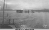 Salmon fish trap, 1916.