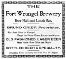 Fort Wrangel Brewery [newspaper ad].