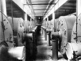 [Interior, showing vats, no people.]