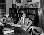 R.N. DeArmond in the Historical Library in the Capitol - 1955.