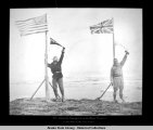After setting the final point on the Alaska Boundary on the shore of the Arctic Ocean.  July 15,...