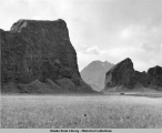 """Gateway"" on way to Inanudak Bay - Umnak Island.  Oct. 27, 1943."