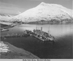 Navy ships in Dutch Harbor.