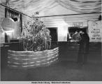 Christmas Tree in P.O. Lobby, Dec. 22, 1943.