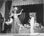 Navy Show (Honky Tonk) at Ft. Mears Theatre.  (Carmen Miranda at Mike)  August 23, 1943.