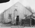 Store & Office Bldg A&P.S.C.Co Excursion Inlet, Alaska, ca. 1908.